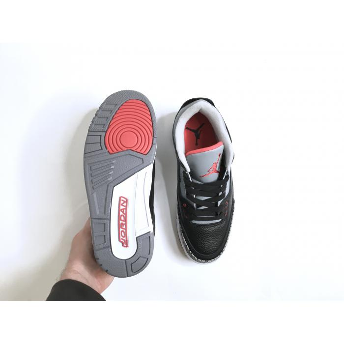 Кроссовки Air Jordan 3 Retro Black Cement