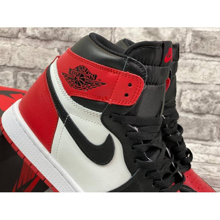 Кроссовки Nike Air Jordan 1 High Bred Toe