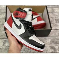 Кроссовки Air Jordan 1 retro Hight Black Toe