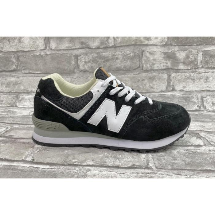 Кроссовки New Balance 574 black white