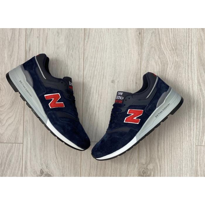 Кроссовки New Balance 997 blue/red