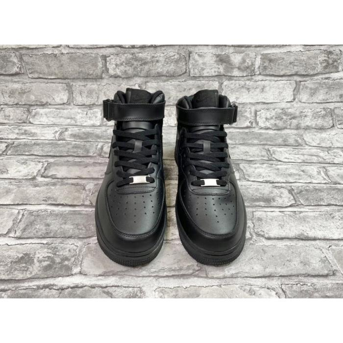 "Кроссовки Nike Air Force One Mid ""07 Black"