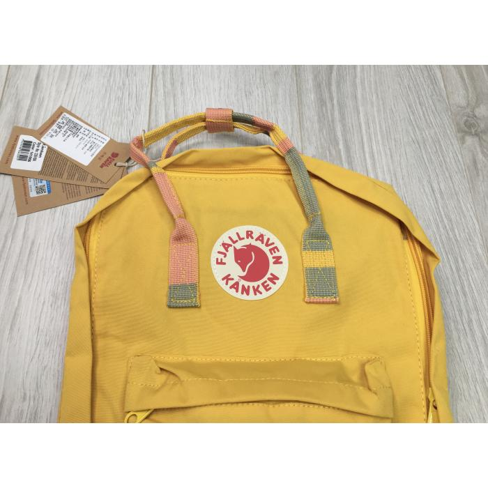 Рюкзак Fjallraven Kanken Yellow print