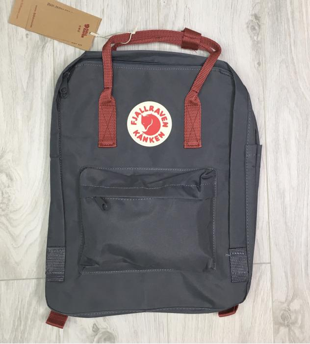 Рюкзак Fjallraven Kanken Gray Red