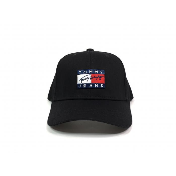 Кепка Tommy Hilfiger big logo black