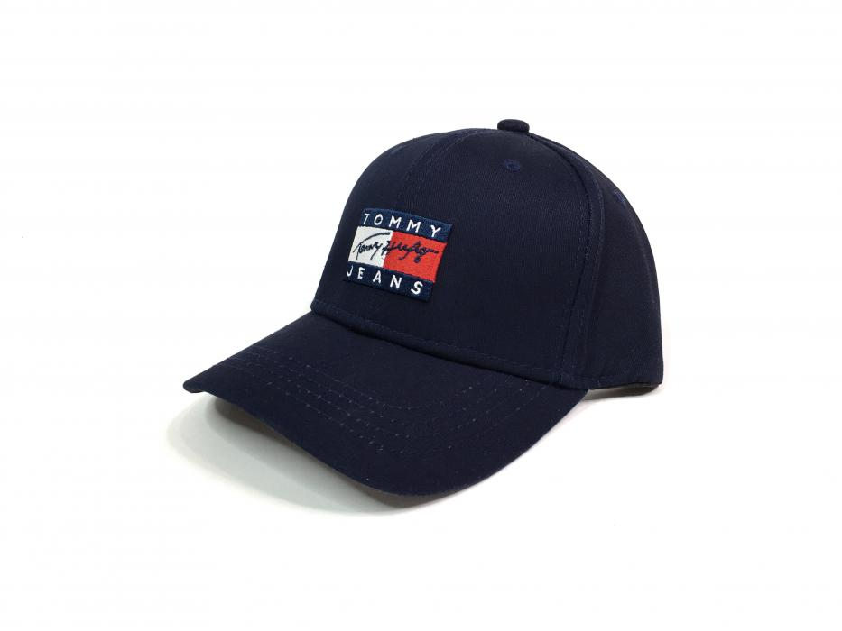 Кепка Tommy Hilfiger big logo blue